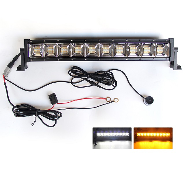 Rigid Amber Led Light Bar For Trucks 9613BS